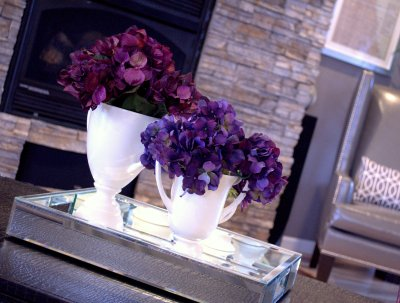 white trophy vase trio - target