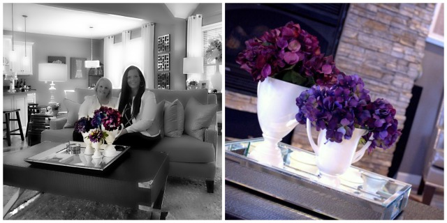 purple flowers- Jaime vs Dixie